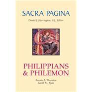 Philippians and Philemon by Thurston, Bonnie B., 9780814659793