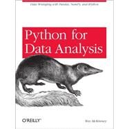 Python for Data Analysis by Mckinney, Wes, 9781449319793
