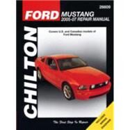 Chilton's Ford Mustang 2005-10 Repair Manual by Stubblefield, Mike, 9781563929793
