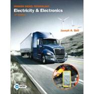 Modern Diesel Technology Electricity and Electronics by Bell, Joseph, 9781133949800