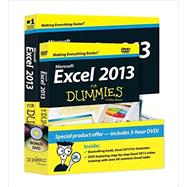 Excel 2013 For Dummies, Book + DVD Bundle by Harvey, Greg, 9781118559802