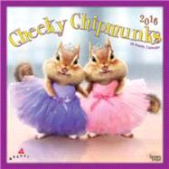 Cheeky Chipmunks 2016 Calendar by Browntrout Publishers, 9781465039804