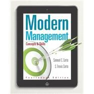 Modern Management Concepts and Skills by Certo, Samuel C.; Certo, S. Trevis, 9780133859812