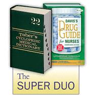 Super Duo: Taber's Medical Dictionary 22nd and Davis's Drug Guide 14th by Unknown, 9780803639812
