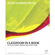 Adobe Dreamweaver CS3 Classroom in a Book by Adobe Creative Team, ., 9780321499813