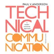 Technical Communication by Anderson, Paul V., 9781133309819
