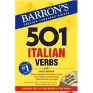 501 Italian Verbs by Colaneri, John, 9780764179822