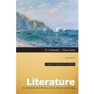 Literature An Introduction to Fiction, Poetry, Drama, and Writing, Compact Interactive Edition by Kennedy, X. J.; Gioia, Dana, 9780205229840