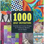 1000 Quilt Inspirations by Sider, Sandra, 9781592539840