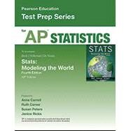 Pearson Education AP Test Prep: Statistics by Peters; Ricks, 9780133539844