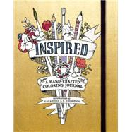 Inspired Adult Coloring Book by Thompson, Galadriel A. L., 9780996599849