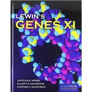 Lewin's Genes XI (Book with Access Code) by Krebs, Jocelyn E., 9781449659851