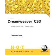 Adobe Dreamweaver CS3 Hands-On Training by Chow, Garrick, 9780321509857
