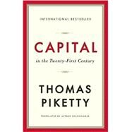 Capital in the Twenty-first Century by Piketty, Thomas; Goldhammer, Arthur, 9780674979857