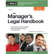 The Manager's Legal Handbook by Delpo, Amy; Guerin, Lisa, 9781413319859