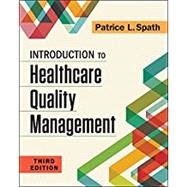 Introduction to Healthcare Quality Management by Spath, Patrice L., 9781567939859