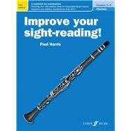Improve Your Sight-reading! Clarinet, Grade 1-3 by Harris, Paul, 9780571539871