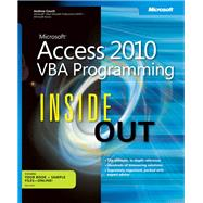 Microsoft Access 2010 VBA Programming Inside Out by Couch, Andrew, 9780735659872