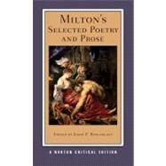 Milton's Sel Poet/Prose Nce Pa by Milton,John, 9780393979879
