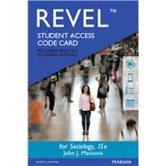 REVEL for Sociology -- Access Card by Macionis, John J, 9780133869880