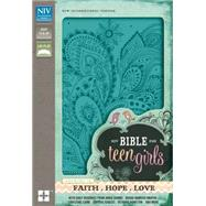 NIV Bible for Teen Girls by Zondervan Publishing House, 9780310749882