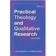 Practical Theology and Qualitative Research by Swinton, John; Mowat, Harriet, 9780334049883