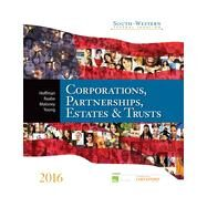 South-Western Federal Taxation 2016: Corporations, Partnerships, Estates & Trusts (Book + CD + Printed Access Card) by Hoffman, William H. Jr.; Raabe, William A.; Maloney, David M.; Young, James C.; Boyd, James H., 9781305399884