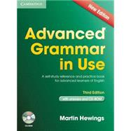 Advanced Grammar in Use with Answers: A Self-Study Reference and Practice Book for Advanced Learners of English by Hewings, Martin, 9781107699892