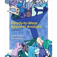 Ready-to-Wear Apparel Analysis by Brown, Patty; Rice, Jannett, 9780133109894