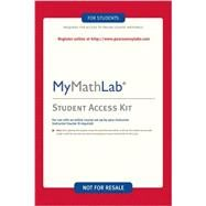 MyMathLab/MyStatLab -- Custom Valuepack Access Card, 3/e by Pearson, 9780321199904