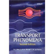 Transport Phenomena by Beek, W. J.; Muttzall, K. M. K.; Van Heuven, J. W., 9780471999904