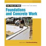 Foundations and Concrete Work by FINE HOMEBUILDING, 9781561589906