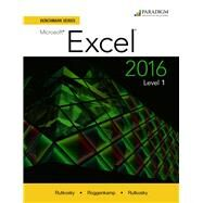 Benchmark Series: Microsoft Excel 2016 Level 1 9780763869908U