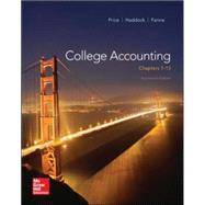 College Accounting (Chapters 1-13) by Price, John; Haddock, M. David; Farina, Michael, 9780077639914