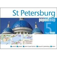 St Petersburg Popout Map by Compass Maps Ltd, 9781845879914