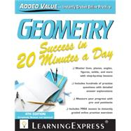 Geometry Success in 20 Minutes a Day by Learningexpress Llc, 9781576859919