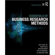 The Essentials of Business Research Methods by Hair Jr.; Joe F., 9781138859920