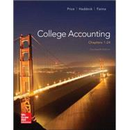 College Accounting (Chapters 1-24) by Price, John; Haddock, M. David; Farina, Michael, 9780077639921