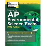 Cracking the AP Environmental Science Exam, 2017 Edition by Princeton Review, 9781101919927
