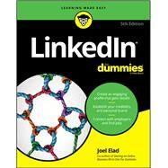 Linkedin for Dummies by Elad, Joel, 9781119469933