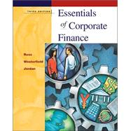 Wall Street Journal Edition of Essentials of Corporate Finance + Powerweb + Student Problem Manual by Ross, Stephen A.; Westerfield, Randolph; Jordan, Bradford D., 9780072539936
