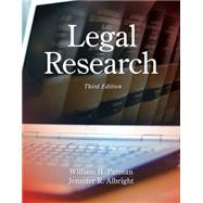 Legal Research by Putman, William H.; Albright, Jennifer, 9781285439938