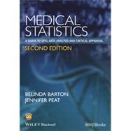 Medical Statistics by Barton, Belinda; Peat, Jennifer, 9781118589939