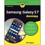 Samsung Galaxy S7 for Dummies by Hughes, Bill, 9781119279952