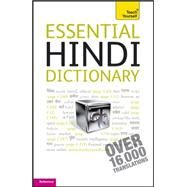 Essential Hindi Dictionary: A Teach Yourself Guide by Snell, Rupert, 9780071759953