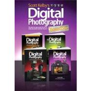 Scott Kelby's Digital Photography Boxed Set, Parts 1, 2, 3, And 4 by Kelby, Scott, 9780321839954