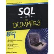 SQL All-in-One For Dummies by Taylor, Allen G., 9780470929964