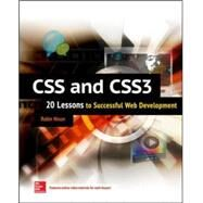 CSS & CSS3: 20 Lessons to Successful Web Development by Nixon, Robin, 9780071849968