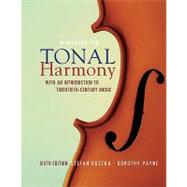 MP Tonal Harmony Workbook with Workbook CD and Finale Discount Code by KOSTKA, 9780077269968