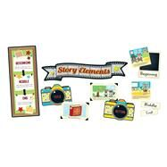 Hipster Story Elements Bulletin Board Set by Carson-Dellosa Publishing Company, Inc., 9781483829975